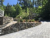 Fieldstone Retaining Walls