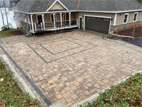 Paver Driveway Courtyard