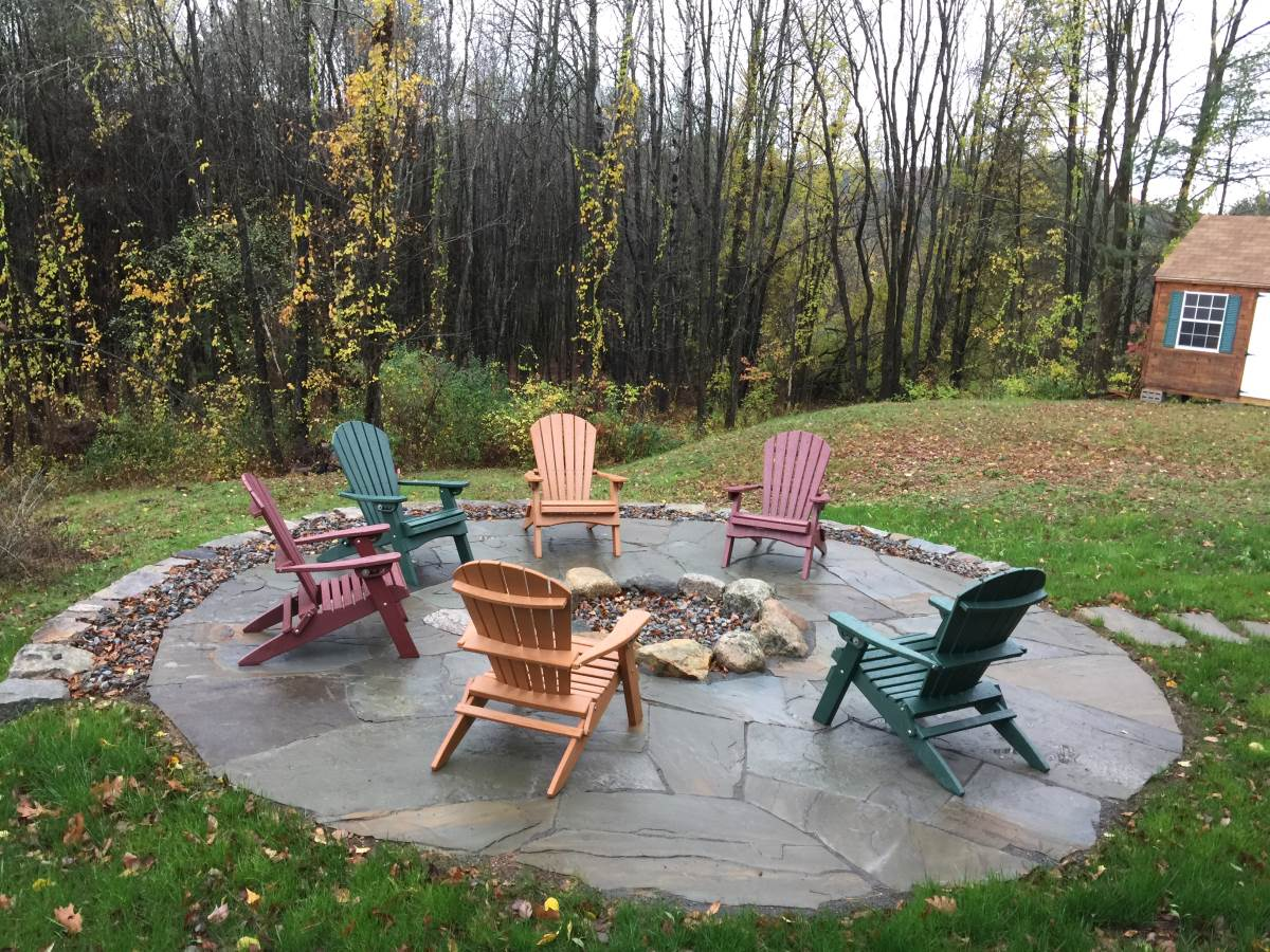 After Fire Pit Patio