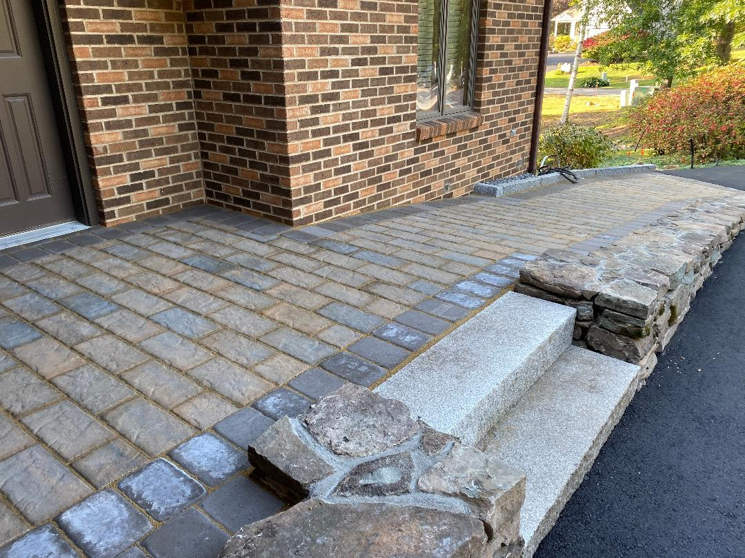 After Stone Ramp Entry and Steps