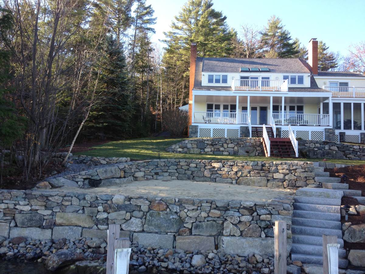 Waterfront Retaining Walls
