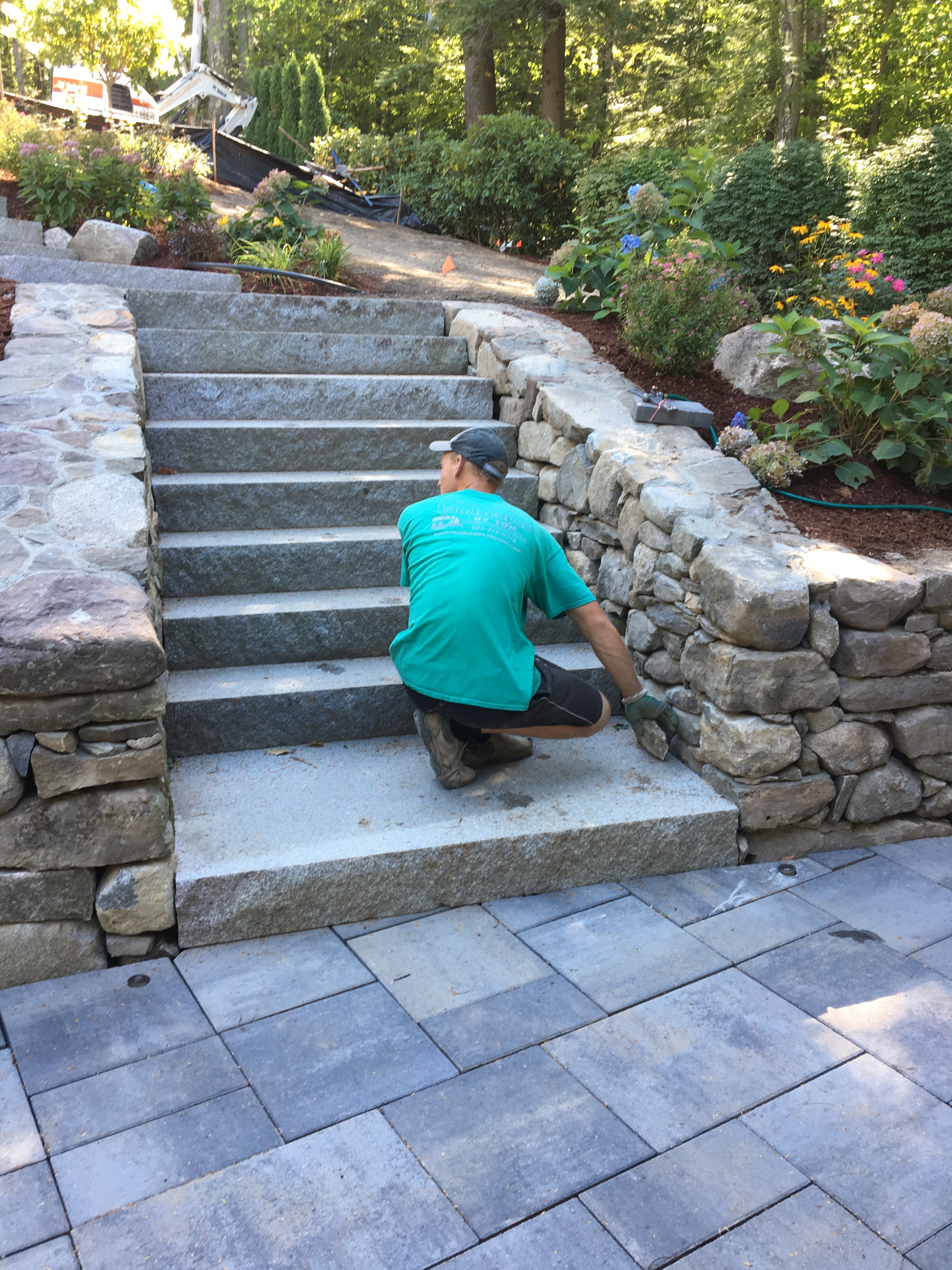 Granite Steps are a Great Choice!